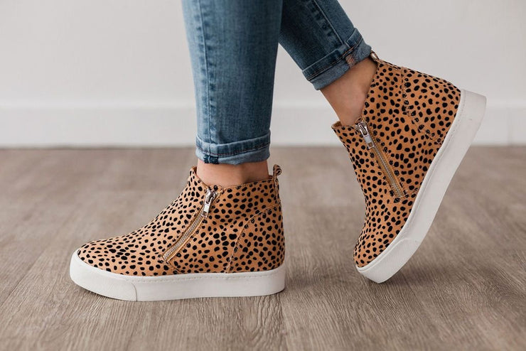 TAYLOR NATURAL LEOPARD CHEETAH - FYShoes