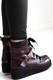 THOMAS-01 BURGUNDY - FYShoes