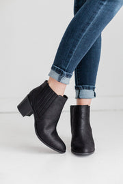 TOPANGA-01 BLACK - FYShoes