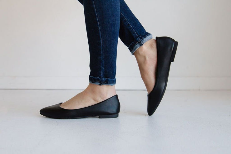 W-HOLD BLACK PU - FYShoes