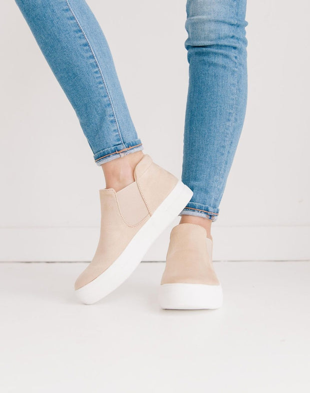 WOODS OATMEAL BEIGE SUEDE - FYShoes