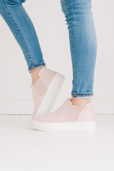 WOODS PINK SUEDE - FYShoes