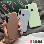 Silicone Phonecase on for Huawei