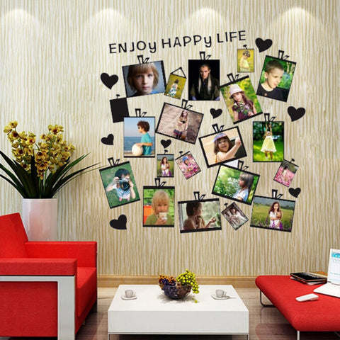 20Pcs Family Photo Frame Sticker