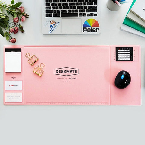 Large Office Desk Mat with Calendar