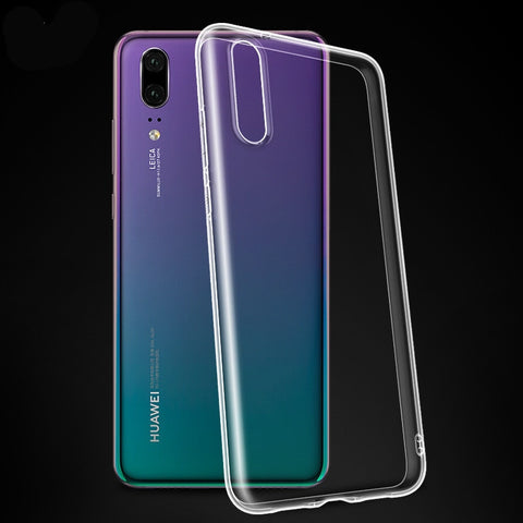 Soft Case For Huawei P20 P8 P9 P10 Mate 10 20 Lite P30 Pro P Smart 2019 Honor 8X Clear