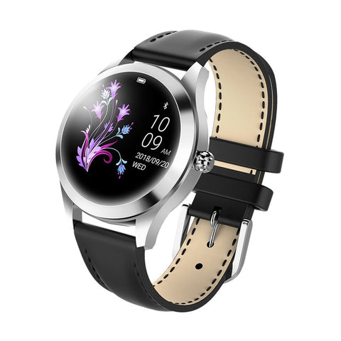 KW10 Womens Smart  Fitness Watch with IP68 Waterproofing