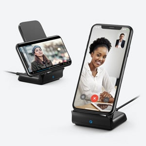 Anker Wireless Charger Stand, Qi-Certified,