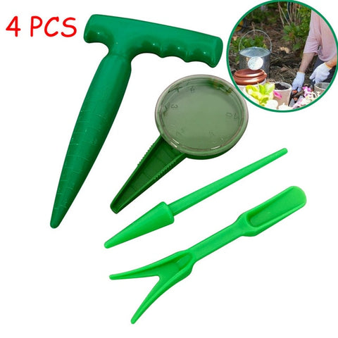 Plastic Seed Soil Sowing Tool and Gardening Supplies