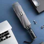 Windproof Folding Umbrella with LED lighting