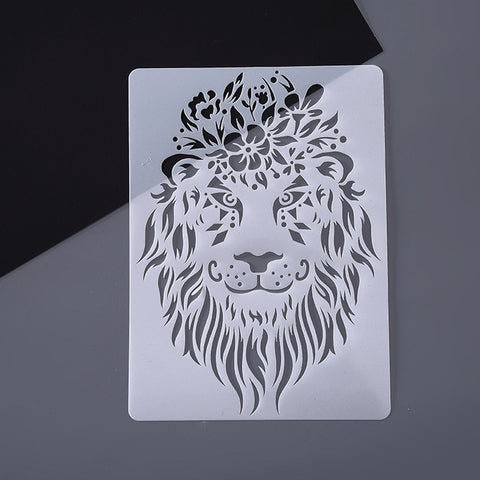 Educational Drawing Stencil