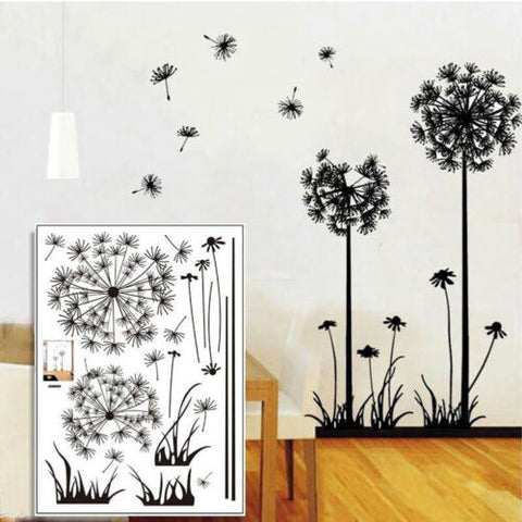 Dandelion Flying Wall Stickers
