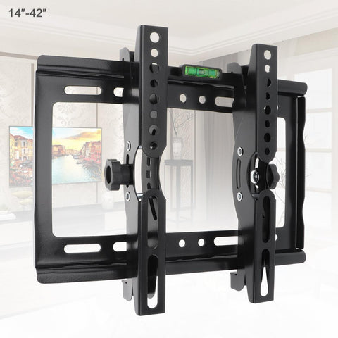 Universal 45KG Adjustable TV Wall Bracket