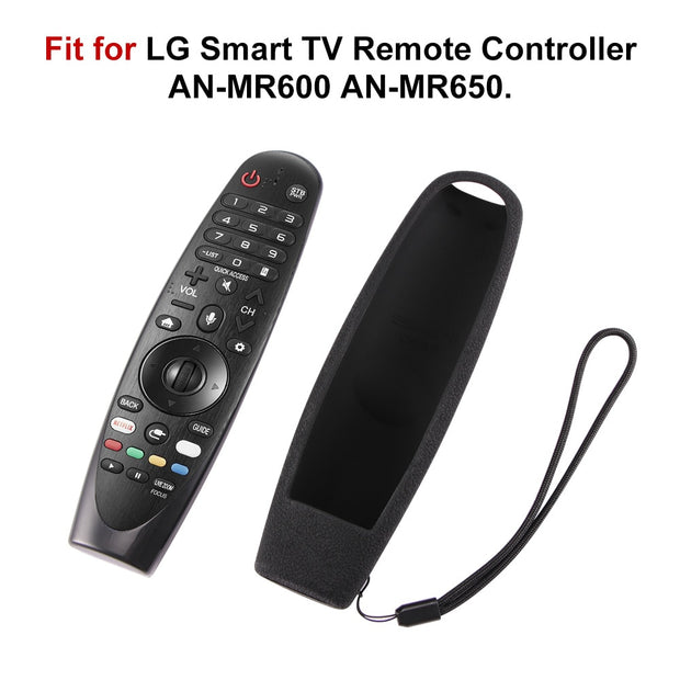 Silicone Remote Control Case For LG Smart TV Magic Remote AN-MR600
