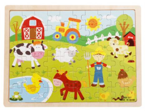 60pc Cartoon Jigsaw Puzzle