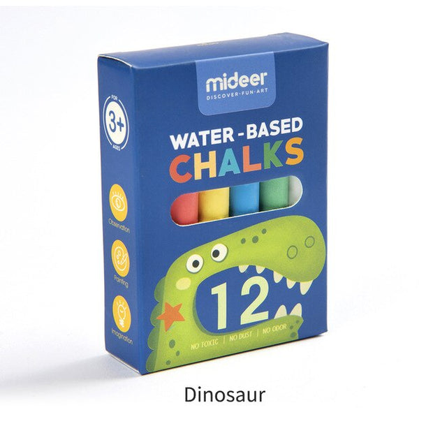 MiDeer Childrens 12Pcs Colouring Chalks