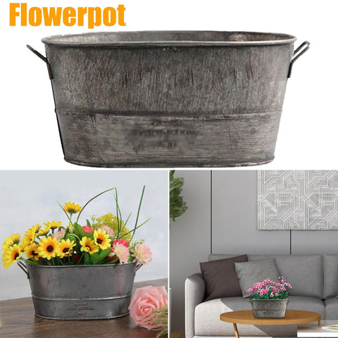 Decorative Plant Pot Bucket