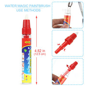 38.5x29cm Magic Doodle Mat & Water Painting Pen