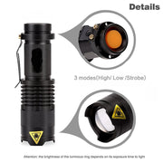 1000 LM CREE Q5 LED Torch