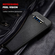 PU Leather Silicon Case For Samsung Galaxy