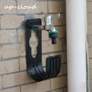 2pcs Wall Mounted Garden Hose Storage Hanger