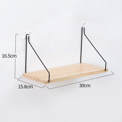 Nordic Style Scandinavian 1PC Metal Wall Shelf