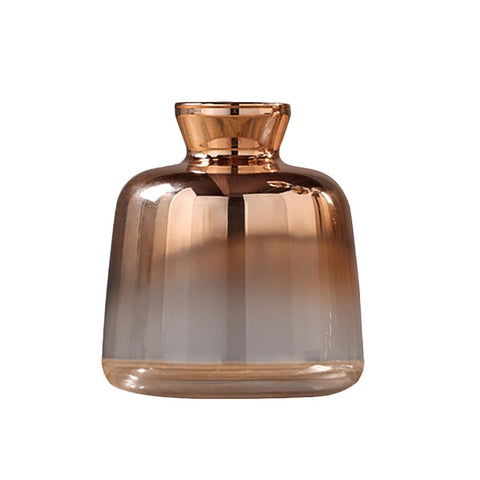 Nordic Electroplated Glass Vase