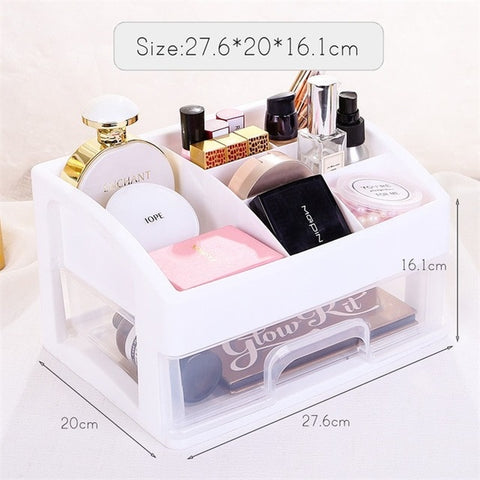 Plastic Cosmetic Storage Box