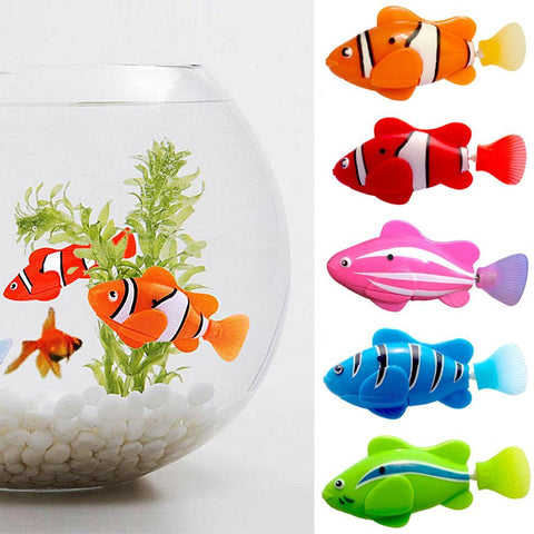5 Pc Set Electronic Fish Toy with Battery
