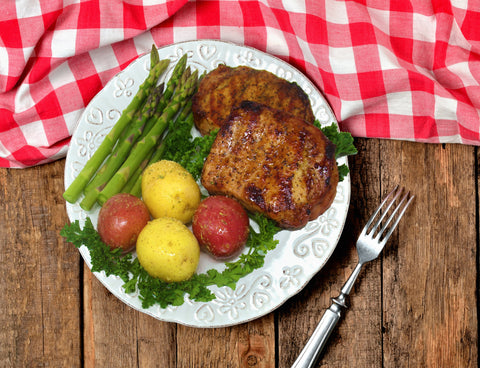 Boneless Marinated Pork Chop