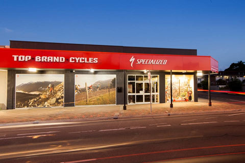 Top Brand Cycles Shop Front