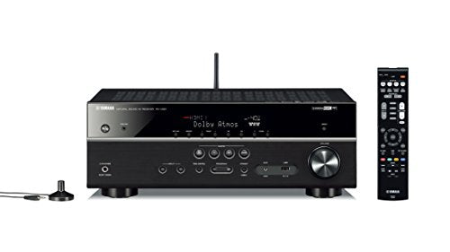 Yamaha RX V581 7 2 Channel Network A V Receiver with Bluetooth and Wi Fi