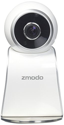 Zmodo Sight 180 Full HD 1080p Wireless Security Camera System Two Way Audio 180 Degree Viewing Angle, Works with Alexa