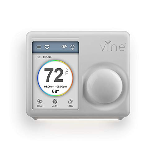 Vine WiFi Programmable Smart Home Thermostat 2nd Gen,Alexa and Google assistant compatible