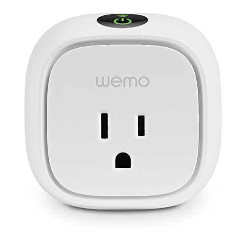 Wemo Insight WiFi Enabled Smart Plug, with Energy Monitoring, Works with Alexa Discontinued by Manufacturer Newer Version Available