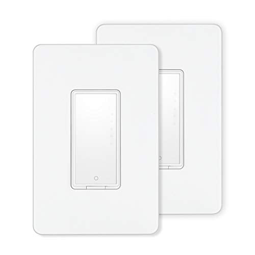 Smart Switch by MartinJerry Compatible with Alexa, Smart Home Devices Works with Google Home, No Hub required, Easy installation and App control as Smart Switch On Off Timing 2 Pack