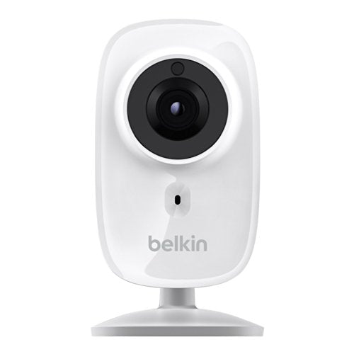 Belkin NetCam HD Wi Fi enabled Camera works with WeMo, includes Night Vision, All Glass Wide Angle Lens, and Infrared Cut off Filter
