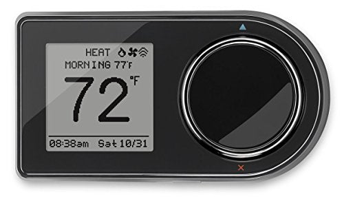 Lux Products GEO BL Wi Fi Thermostat, Black
