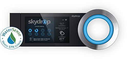 Skydrop Halo Smart Sprinkler System Controller Alexa and Google Home Enabled WiFi Connected 8 Zone Irrigation System on Your Water Bill