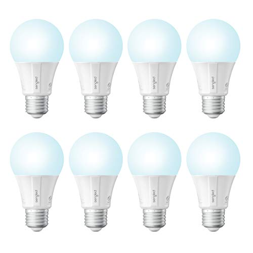 Sengled Smart Light Bulb, Smart Bulbs that Work with Alexa Google Home Hub Required , Smart LED Light Bulbs with Daylight, 9W 60w Equivalent , 800LM, 8 Pack