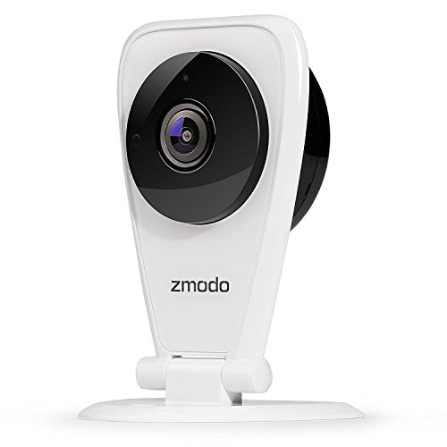 Zmodo EZCam Wireless Two Way Audio Smart HD IP Home Security Camera with Night Vision, Works with Alexa