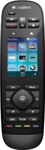 Logitech Harmony Touch Universal Remote with Color Touchscreen Black Discontinued by Manufacturer