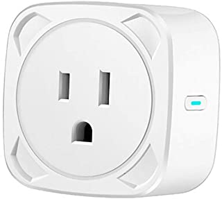 Novania Smart Plug WiFi Outlet, Mini Smart Socket Switch Compatible with Google Home & Amazon Alexa Echo, 2.4Ghz Remote Control Wireless Timer Switch Outlet,IFTTT Voice Control,No Hub Required
