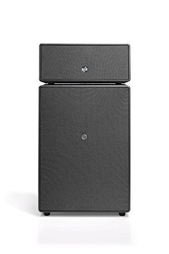 Audio Pro Drumfire Wireless WiFi Multiroom Speaker System Compatible with Alexa HiFi Black