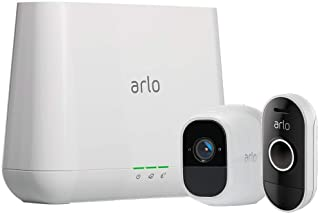 Arlo Pro 2 - Camera, Doorbell Kit  Pro 2 Camera (1) with Doorbell | Wire-free, Smart Home Security, Weather-resistant, Works with Amazon Alexa