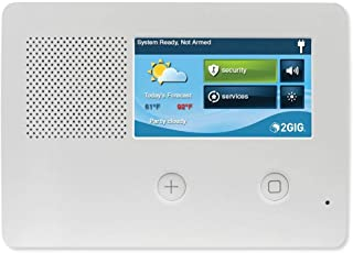 2gig GC2E Security and Control Alarm Panel, Enhanced Security, 5
