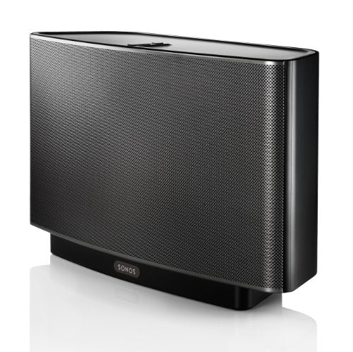 Sonos Play 5 Wireless Speaker for Streaming Music Black Gen 1 Discontinued by Manufacturer , Works with Alexa