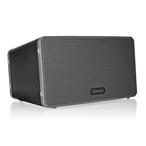 Sonos Play 3 Mid Sized Wireless Smart Home Speaker for Streaming Music, Amazon Certified and Works with Alexa Black