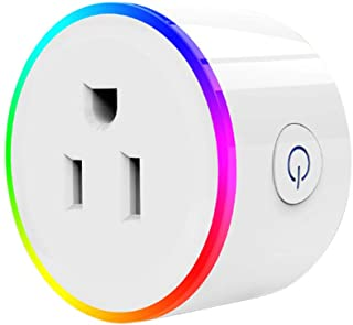 redcolourful Intelligent WiFi Voice Control Socket US Plug Outlet Compatible with Alexa Household Items