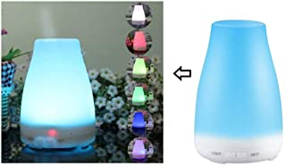 100ml Aroma Diffuser, Waterless Auto Off, Cool Mist Colorful Ultrasonic Air Humidifier for Home, Yoga, Office,Bedroom